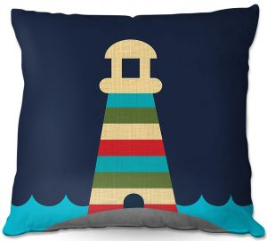 Decorative Outdoor Patio Pillow Cushion | Kim Hubball - Lighthouse Nursery