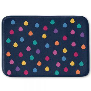 Decorative Bathroom Mats | Kim Hubball - Raindrops Nursery