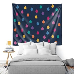 Artistic Wall Tapestry | Kim Hubball - Raindrops Nursery