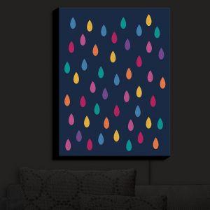 Nightlight Sconce Canvas Light | Kim Hubball - Raindrops Nursery | Pattern