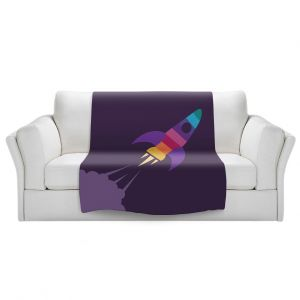 Artistic Sherpa Pile Blankets   Kim Hubball - Rocket Nursery