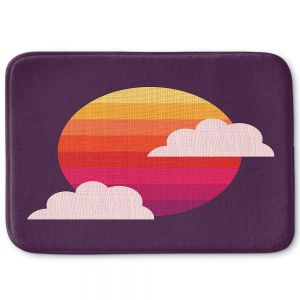 Decorative Bathroom Mats | Kim Hubball - Sunset