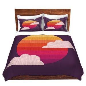 Artistic Duvet Covers and Shams Bedding | Kim Hubball - Sunset