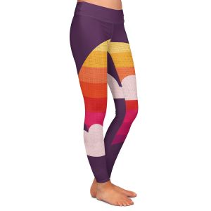 Casual Comfortable Leggings | Kim Hubball - Sunset