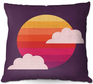 Throw Pillows Decorative Artistic | Kim Hubball - Sunset
