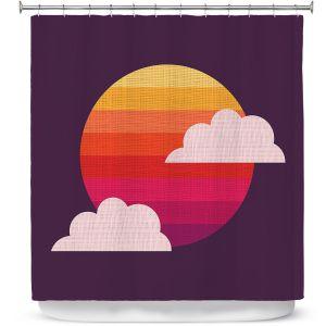 Premium Shower Curtains | Kim Hubball - Sunset