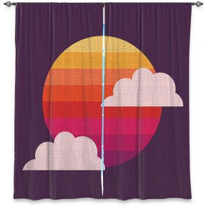 Decorative Window Treatments | Kim Hubball - Sunset