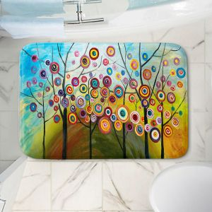 Decorative Bathroom Mats | Lam Fuk Tim - Abstract Blossom II