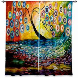 Decorative Window Treatments | Lam Fuk Tim Abstract Blossom III