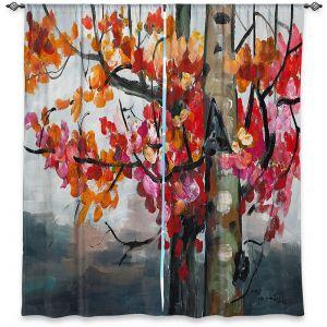 Decorative Window Treatments | Lam Fuk Tim - Color Birch Tree 2 | nature landscape