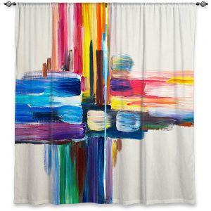 Decorative Window Treatments   Lam Fuk Tim - Colorful Sripes ll