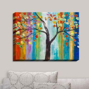 Decorative Canvas Wall Art | Lam Fuk Tim - Color Tree
