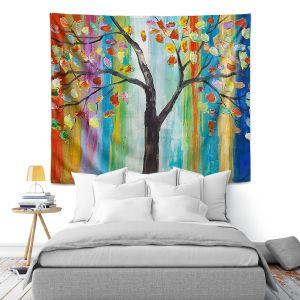 Artistic Wall Tapestry | Lam Fuk Tim Color Tree