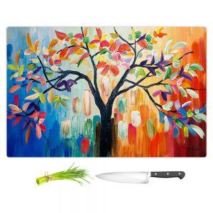 Artistic Kitchen Bar Cutting Boards | Lam Fuk Tim - Colorful Tree lll