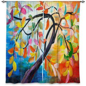Decorative Window Treatments | Lam Fuk Tim - Colorful Tree lV