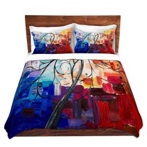 Artistic Duvet Covers and Shams Bedding | Lam Fuk Tim - Colorful Tree Vll
