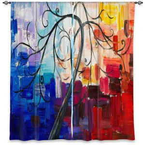 Decorative Window Treatments | Lam Fuk Tim - Colorful Tree Vll