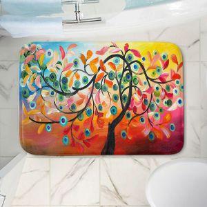 Decorative Bathroom Mats | Lam Fuk Tim - Colorful Tree Vlll