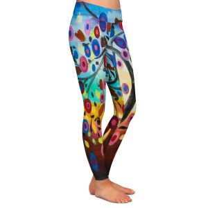Casual Comfortable Leggings | Lam Fuk Tim - Color Tree XIII | surreal nature