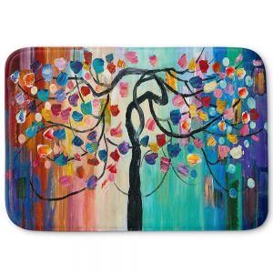 Decorative Bathroom Mats | Lam Fuk Tim - Color Tree XV | surreal nature