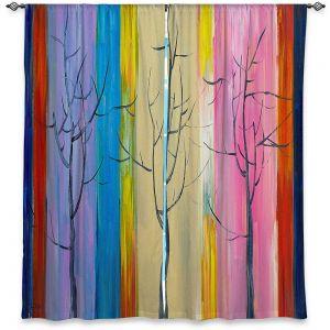 Decorative Window Treatments | Lam Fuk Tim - Colorful Trees l