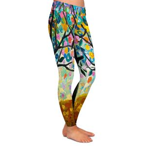 Casual Comfortable Leggings | Lam Fuk Tim Flowering Season