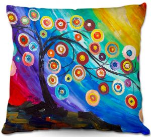 Throw Pillows Decorative Artistic   Lam Fuk Tim's Full of Fruits