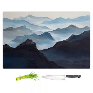 Artistic Kitchen Bar Cutting Boards | Lam Fuk Tim - Misty Mountains l
