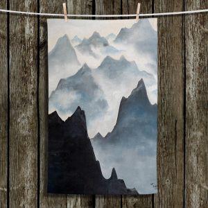 Unique Bathroom Towels | Lam Fuk Tim - Misty Mountains ll
