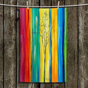 Unique Bathroom Towels   Lam Fuk Tim - Rainbow Tree ll