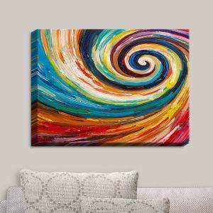 Decorative Canvas Wall Art | Lam Fuk Tim - Spiral II