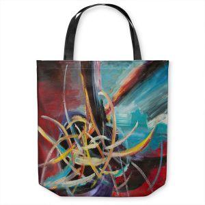 Unique Shoulder Bag Tote Bags | Lam Fuk Tim - Spiral Maze 1 | abstract shape lines