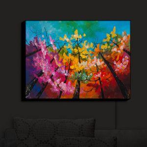 Nightlight Sconce Canvas Light | Lam Fuk Tim - Treetop Colorful 3