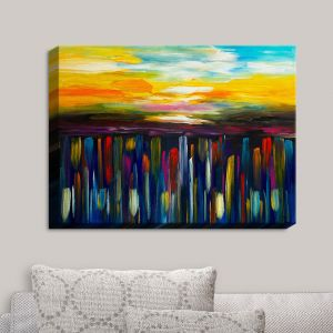 Decorative Canvas Wall Art | Lam Fuk Tim - Tulip Fields I | Abstract