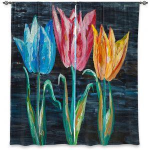 Decorative Window Treatments | Lam Fuk Tim - Tulips 3 | nature flower