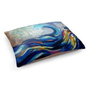 Decorative Dog Pet Beds | Lam Fuk Tim - Wave Rolling Rainbow