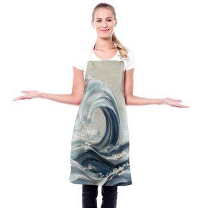 Artistic Bakers Aprons | Lam Fuk Tim - Wave Rolling I | Waves Ocean