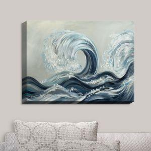 Decorative Canvas Wall Art | Lam Fuk Tim - Wave Rolling I | Waves Ocean