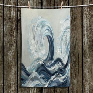 Unique Hanging Tea Towels | Lam Fuk Tim - Wave Rolling l | Waves Ocean