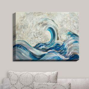 Decorative Canvas Wall Art | Lam Fuk Tim - Wave Rolling II | Waves Ocean