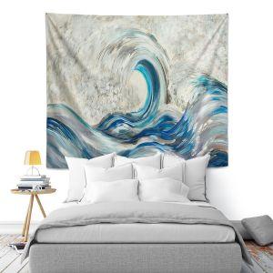 Artistic Wall Tapestry | Lam Fuk Tim - Wave Rolling ll