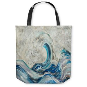 Unique Shoulder Bag Tote Bags |Lam Fuk Tim - Wave Rolling ll