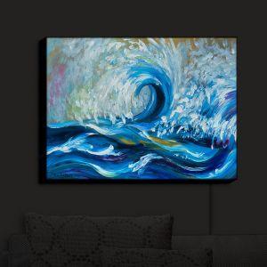 Nightlight Sconce Canvas Light | Lam Fuk Tim - Wave Rolling 3