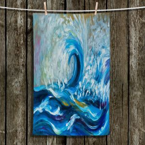 Unique Bathroom Towels | Lam Fuk Tim - Wave Rolling 3 | water sea ocean