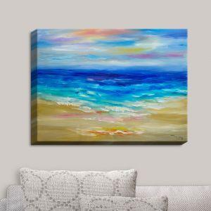 Decorative Canvas Wall Art | Lam Fuk Tim - Waves Abstract III | Ocean Beach