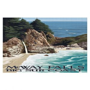 Decorative Floor Coverings | Lantern Press - Big Sur Coast California