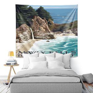 Artistic Wall Tapestry | Lantern Press - Big Sur Coast California