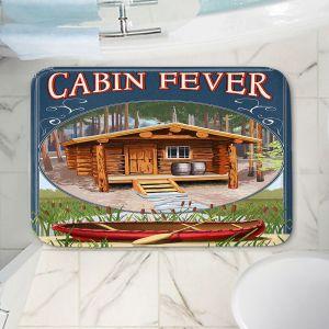 Decorative Bathroom Mats | Lantern Press - Cabin Fever