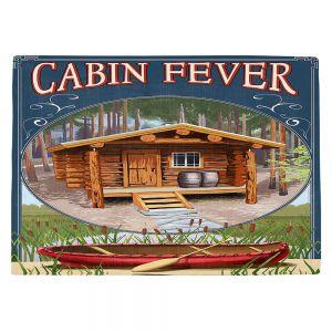 Countertop Place Mats | Lantern Press - Cabin Fever
