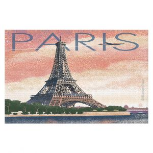 Decorative Floor Coverings | Lantern Press - Eiffel Tower Paris